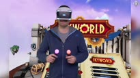 MOBA trifft auf RTS und Cardgame Felix zockt Skyworld in PlayStation VR - Video